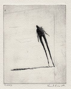 Hey, I found this really awesome Etsy listing at https://www.etsy.com/listing/120965906/original-etching-walking-viii