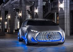 German car manufacturer Mercedes-Benz produced this all-electric concept car, named Vision Tokyo.