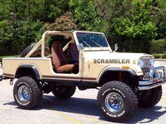 1982 Jeep Scrambler CJ8 Oh how I want a Jeep....