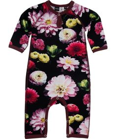 0272c72fbe8d Molo Fiona Black Flowering 2014 Jumpsuits