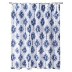 Mudhut™ Izula Shower Curtain - Blue Target.com $29.99