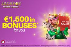 Jackpot Mobile Casino launched a fantastic new promotion, January Sales for all casino lovers!! You will get up to £1500 as bonus, only two more days to get the offer!! Click here for more: https://www.jackpotmobilecasino.co.uk/blog/january-sales-begins-jackpot-mobile-casino/