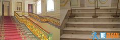 Мариинский дворец очистка мрамора