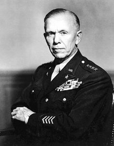 "Winston Churchill called him ""the noblest Roman""; President Harry Truman said he was ""the greatest military man America ever produced""; and U.S. Secretary of War Henry L. Stimson considered Marshall the finest soldier he had ever known.  In 1939 General George C. Marshall became U.S. Army Chief of Staff - the highest rank in the Army. The day of his promotion, however, would prove prophetic: Hitler invaded Poland, and Marshall's work was cut out for him."