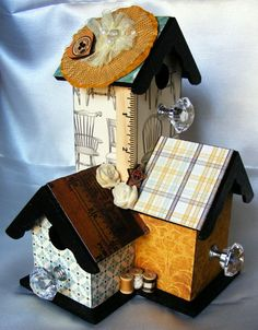 altered birdhouses | Altered Bird Houses