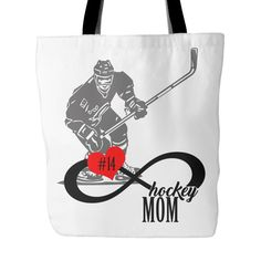 New! Personalized Hockey Mom Tote