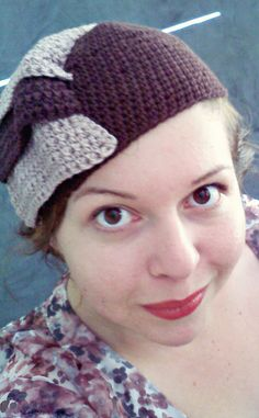 1930s crochet hat by zaftiq, she used dk and an f hook.  free 1930's pattern. On Ravelry. Link to original.