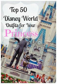 Top 50 Disney World Outfits for Your Princess! Minnie Mouse, Cinderella, Little Mermaid and more!Déguisements de Minnie et de princesses!3 princesses need attire