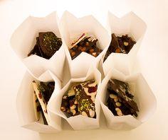 Schokolade in Tüten verschenken