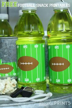Are you ready for for some football? Football party or snack mom FREE printables! Football Free Printable by DimplePrints-4
