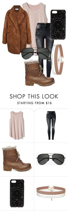 """Untitled #1578"" by velvetgirl10 on Polyvore featuring Gap, Steve Madden, Yves Saint Laurent, Felony Case and Miss Selfridge"