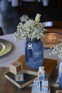 Vintage Chic Baby Shower Party Ideas | Photo 1 of 66