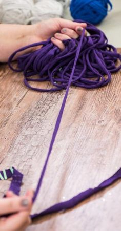 How To Make Yarn From T-Shirts