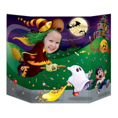 Beistle Witch Photo Prop, 3-Feet 1-Inch by 25-Inch