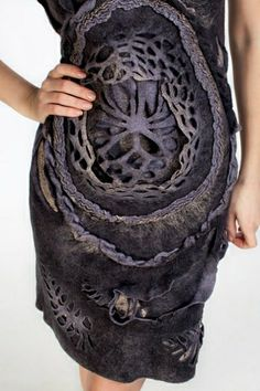 This dress is cool, but it reminds me of the inside of a dalek.... Lol