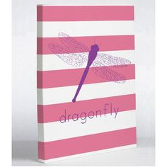 """One Bella Casa Dragonfly Graphic Art on Wrapped Canvas Size: 20"""" H x 16"""" W x 2"""" D"""