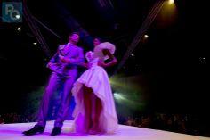 Photo PO-Olivier Lanrivain.   Presse-Océan retient notre prestation au salon du mariage de la Beaujoire de Nantes en novembre 2013   pour leur article.