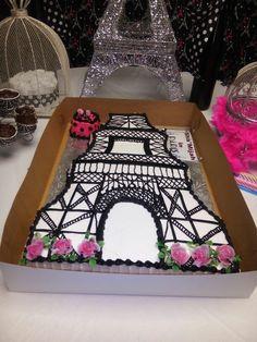 Eiffel tower cake Eiffel Tower Cake, Passion, Desserts, Food, Tailgate Desserts, Deserts, Essen, Postres, Meals