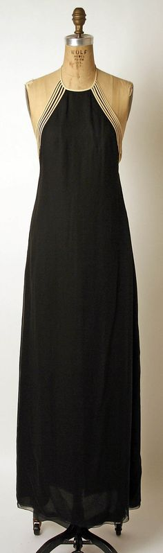 Dress, Evening  James Galanos  (American, born Philadelphia, Pennsylvania, 1924).  1966