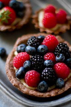 ... cream tartlets more good food cream tartlets july berries snyder