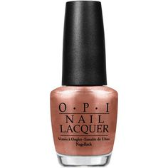 Opi Nail Lacquer Worth a Pretty Penne ($9.50) ❤ liked on Polyvore featuring beauty products, nail care, nail polish, makeup, nails, beauty, worth a pretty penne, opi, opi nail color and opi nail care
