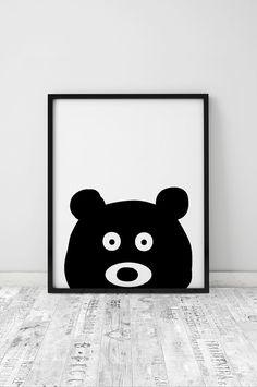 Bear Print // Kids Room