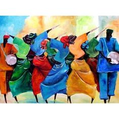 African Art Painting People Beautiful New Ideas American Art, Dance Paintings, Art Painting, Painting People, Illustration Art Girl, Dance Art, Painting, Female Art, African Art Paintings