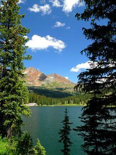Lake Irwin, near Crested Butte. July 21, 2007 in Colorado, USA.