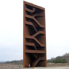 lars herting :: art, interior design & architecture / viewing tower, lake sedlitz, germany