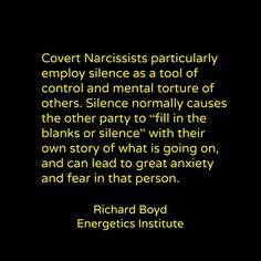 Leaving a covert narcissist