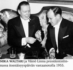 Mika Waltari ja Väinö Linna. Books, Fictional Characters, Art, Writers, Livros, Craft Art, Libros, Livres, Kunst