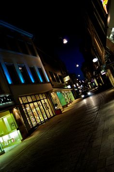 Wiesbaden at night