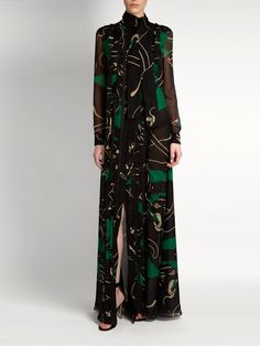 Panther-print dress | Valentino | MATCHESFASHION.COM