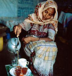 Tea service. Eritrea