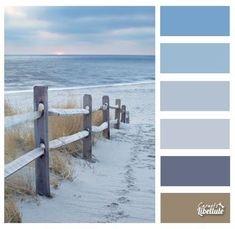 Color Chart & Color Palette – Style Book – Landscape Workshop … Source by Coastal Colors, Coastal Style, Coastal Decor, Coastal Interior, Coastal Cottage, Beach House Colors, Beach House Decor, Room Colors, Wall Colors