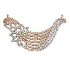 About Diamond. Total Diamond ctw : Total Diamond Color : I/J. Diamond Earrings Indian, Diamond Mangalsutra, Diamond Jewellery, Men's Jewellery, Designer Jewellery, Jewellery Designs, Wedding Bracelet, Bridal Necklace, Pendant Set