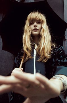 "Frida Gustavsson in ""70's Folk Goddess"" by Cédric Buchet for PORTER Magazine #4"