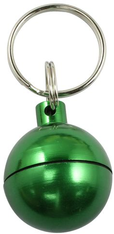 Capsule Sphere for Geocaching (Green)