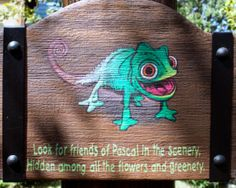 Find Pascal - A great diversion for young kids while you take a quick break. This area is located next to the bathrooms and charging stations. Tangled Tower, Charging Stations, Disney Tips, Fall Family, Magic Kingdom, Disney Vacations, Walt Disney World, The Expanse, Trip Planning