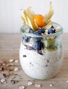 Overnight Oats – Porridge con kefir di latte