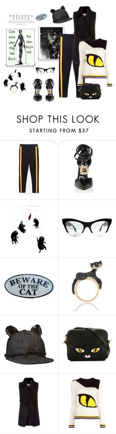 """""""Beware of the cat"""" by juliabachmann ❤ liked on Polyvore featuring Loewe, Agent Provocateur, Delicious Mobiles, Miu Miu, Kate Spade, Karl Lagerfeld, Yazbukey, Coast and Ermanno Scervino"""