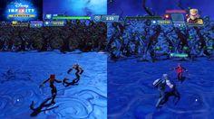 Disney Infinity 3.0 Vedova Nera vs Occhio di Falco