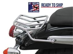 New Rear Rack chrome-behind-the-pillion-seat-for Triumph Speedmaster