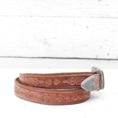 Women's Tooled Leather Western Belt Buckle Western Belt Buckles, Western Belts, Tooled Leather, Leather Tooling, Solid Shapes, All Sale, Westerns, Cuff Bracelets, Feminine