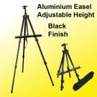 Aluminum Easel Lightweight Display Tripod Menu Poster Picture Holder Stand Folding Light Weight Easel w/ Free Carry Case