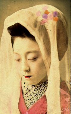 Maiko Girl wearing a Dancing Scarf 1910 by Blue Ruin1, via Flickr
