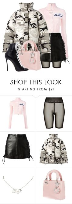 """Untitled #207"" by chlo-lane ❤ liked on Polyvore featuring Au Jour Le Jour, River Island, Yves Saint Laurent, Vetements, Christian Dior and Dsquared2"
