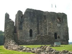 This is Dundonald Castle which was a family seat of the Stewarts for many years. Recent excavations by Historic Scotland revealed the remains of a succession of settlements and fortifications dating back to the Stone Age. The present Castle was built on the remains of an earlier stone castle built in the 13th century by the High Steward of Scotland as part of the country's defenses against the Vikings.