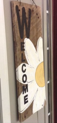 Large welcome sign on repurposed barn wood by MountainDecor, $60.00