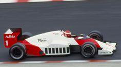 Niki Lauda  McLaren - TAG Porsche 1985